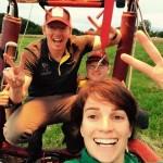 Hot Air Balloonist Nicola Scaife defends FAI World Title
